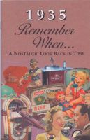1935 Remember When Booklet