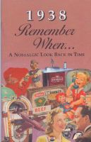 1938 Remember When Booklet