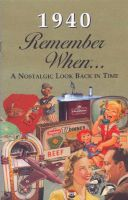 1940 Remember When Booklet