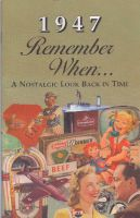 1947 Remember When Booklet