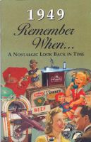 1949 Remember When Booklet