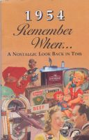 1954 Remember When Booklet