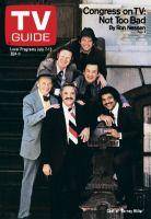 TV Guide, July 7, 1979 - Cast of 'Barney Miller'
