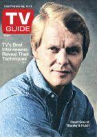 TV Guide, August 13, 1977 - David Soul of 'Starsky & Hutch'