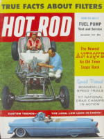 Car Magazines, November 1, 1957 - Hot Rod