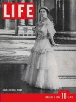 Life Magazine, January 1, 1940 - Queen Elizabeth