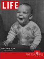 Life Magazine, January 3, 1949 - Famous babies
