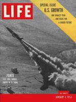 Life Magazine, January 4, 1954 - U.S. economy, rocket