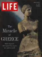 Life Magazine, January 4, 1963 - Ancient Greece, statue