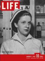 Life Magazine, January 5, 1942 - Nursing shortage