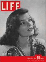 Life Magazine, January 6, 1941 - Katharine Hepburn