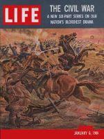 Life Magazine, January 6, 1961 - Historic battles, civil war