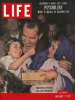 Life Magazine, January 7, 1957 - Vice President Nixon in Austria