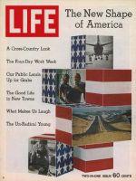 Life Magazine, January 8, 1971 - Composite: The New Shape of America