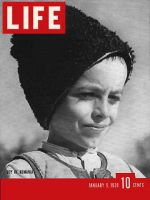 Life Magazine, January 9, 1939 - Romanian boy