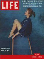 Life Magazine, January 9, 1956 - Riviera styles, fashion