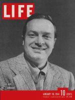 Life Magazine, January 10, 1944 - Bob Hope