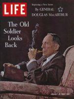 Life Magazine, January 10, 1964 - General Douglas MacArthur
