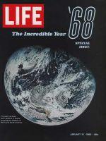 Life Magazine, January 10, 1969 - Earth from Apollo 8