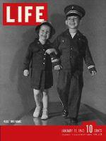 Life Magazine, January 11, 1943 - Kid's uniforms