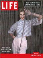 Life Magazine, January 12, 1953 - Attire for Majorca, fashion