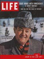 Life Magazine, January 12, 1959 - Senator Hubert H. Humphrey