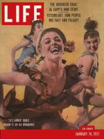 Life Magazine, January 14, 1957 - Broadway's Li'l Abner