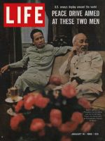 Life Magazine, January 14, 1966 - Vietnam's Ho Chi Minh and Pham Van Dong