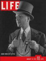 Life Magazine, January 16, 1939 - Lucius Beebe