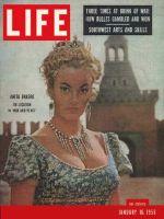Life Magazine, January 16, 1956 - Anita Ekberg