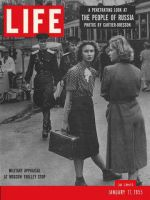 Life Magazine, January 17, 1955 - The Russian people