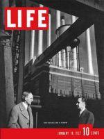 Life Magazine, January 18, 1937 - Henry and Edsel Ford