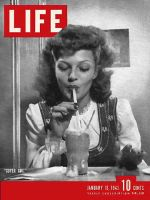 Life Magazine, January 18, 1943 - Rita Hayworth