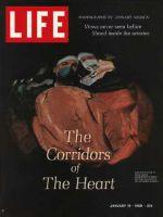 Life Magazine, January 19, 1968 - Heart's interior