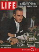 Life Magazine, January 20, 1958 - Senator Lyndon Johnson