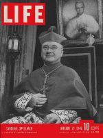 Life Magazine, January 21, 1946 - Cardinal Spellman