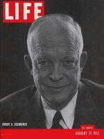 Life Magazine, January 21, 1952 - Eisenhower is running
