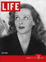 Life Magazine, January 23, 1939 - Bette Davis