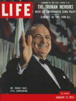 Life Magazine, January 23, 1956 - Citizen Harry Truman