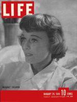 Life Magazine, January 24, 1944 - Margaret Sullavan