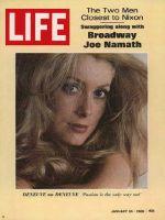 Life Magazine, January 24, 1969 - Catherine Deneuve