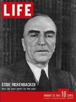 Life Magazine, January 25, 1943 - Rescued hero
