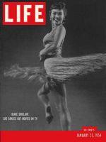 Life Magazine, January 25, 1954 - Dancer Diane Sinclair