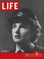 Life Magazine, January 26, 1942 - Air Force women's auxiliary