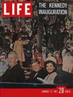 Life Magazine, January 27, 1961 - John F. Kennedy inauguration