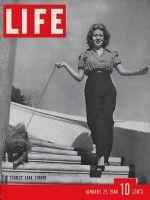 Life Magazine, January 29, 1940 - Lana Turner