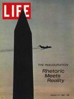 Life Magazine, January 31, 1969 - Washington Monument and plane