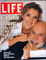 Life Magazine, February 1, 2000 - Celine Dion and Husband