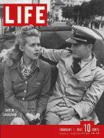 Life Magazine, February 1, 1943 - Date in Casablanca