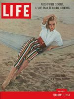 Life Magazine, February 1, 1954 - Tropical togs, fashion